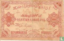Azerbeidzjan 1.000.000 roebel