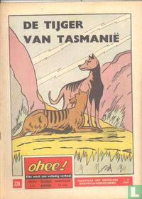 De tijger van Tasmanië