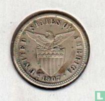 Filipijnen 10 centavos 1907 (S)