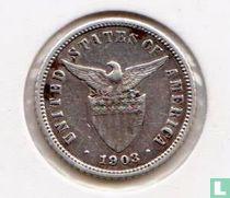 Filipijnen 10 centavos 1903 (Zonder muntteken)