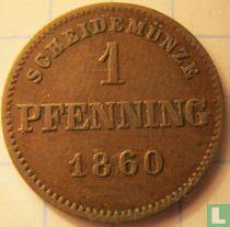 Beieren 1 pfenning 1860