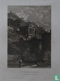 CLITUMNUS-TEMPEL bey Spoleto in Italien.