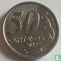 Brazilië 50 centavos 2012