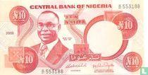 Nigeria 10 Naira 2005