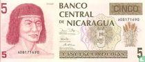 Nicaraqua 5 cordobas