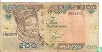 Nigeria 200 Naira 2000