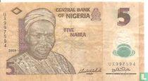 Nigeria 5 Naira 2009 (P38a1)