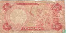 Nigeria 10 Naira ND (1984-) P25b