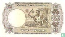 Nigeria 1 Pound ND (1968)