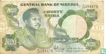 Nigeria 20 Naira ND (1984-) P26c