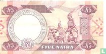 Nigeria 5 Naira ND (1984-) P24c