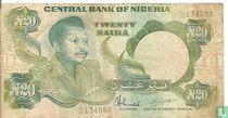 Nigeria 20 Naira ND (1984-) P26d