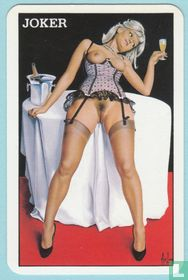 Joker, France, Pin-up, Aslan, Speelkaarten, Playing Cards