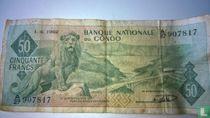 Congo 50 Francs 1962