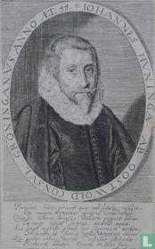 IOHANNES HUNINGA AB OOSTWOLD. CONSUL GRONINGANUS ANNO AET. 55.
