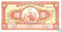 Peru 10 soles de oro