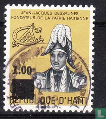 J.J. Dessalines met opdruk