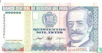 Peru 500.000 Intis