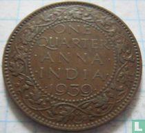 Brits-Indië quarter anna 1939 (Bombay)