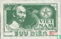 Ho Chi Minh, met opdruk