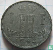 België 1 franc 1943 (FRA-NLD)