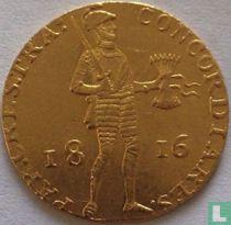 Netherlands ducat 1816