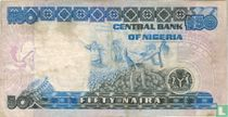 Nigeria 50 Naira ND (1991-) P27c