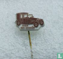 Taxi Citroën 1924 [bruin op wit]