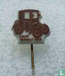 Coupé Renault 1900 [bruin op wit]