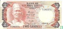Sierra Leone 2 Leones 1984