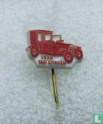 Taxi Citroën 1924 [rood op wit]
