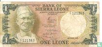 Sierra Leone 1 Leone 1974