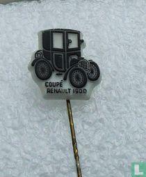 Coupé Renault 1900 [zwart op wit]