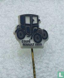 Coupé Renault 1900 [donkerblauw op wit]