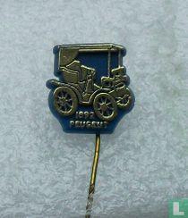 Peugeut 1892 [goud op blauw]