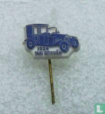 Taxi Citroën 1924 [blauw op wit]
