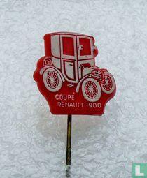 Coupé Renault 1900 [wit op rood]