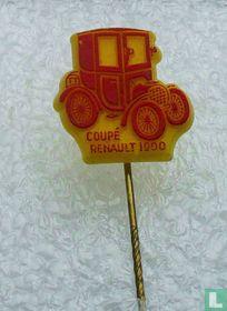 Coupé Renault 1900 [rood op geel]