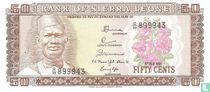 Sierra Leone 50 Cents 1981