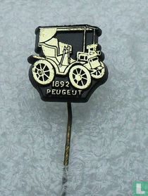 Peugeut 1892 [goud op zwart]