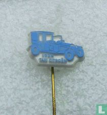 Taxi Citroën 1924 [lichtblauw op wit]