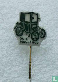 Coupé Renault 1900 [donkergroen op wit]