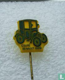 Coupé Renault 1900 [donkergroen op geel]