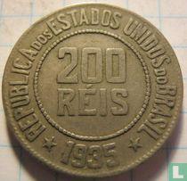 Brasilien 200 Reis 1935
