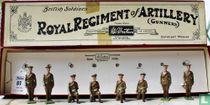 Royal Artillery Gunners, Active service order