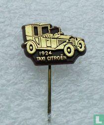 Taxi Citroën 1924 [goud op bruin]