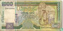 Sri Lanka 1000 rupees