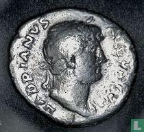 Romeinse Rijk, AR Denarius, 117-138 AD, Hadrianus, Rome, 125-128 AD