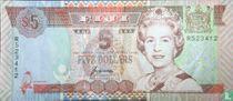 Fiji 5 dollars 1995