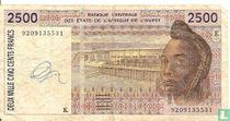 West Afr. Stat. 5000 Francs K